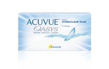 PACKSHOT of ACUVUE OASYS® 2-WEEK with HYDRACLEAR® PLUS