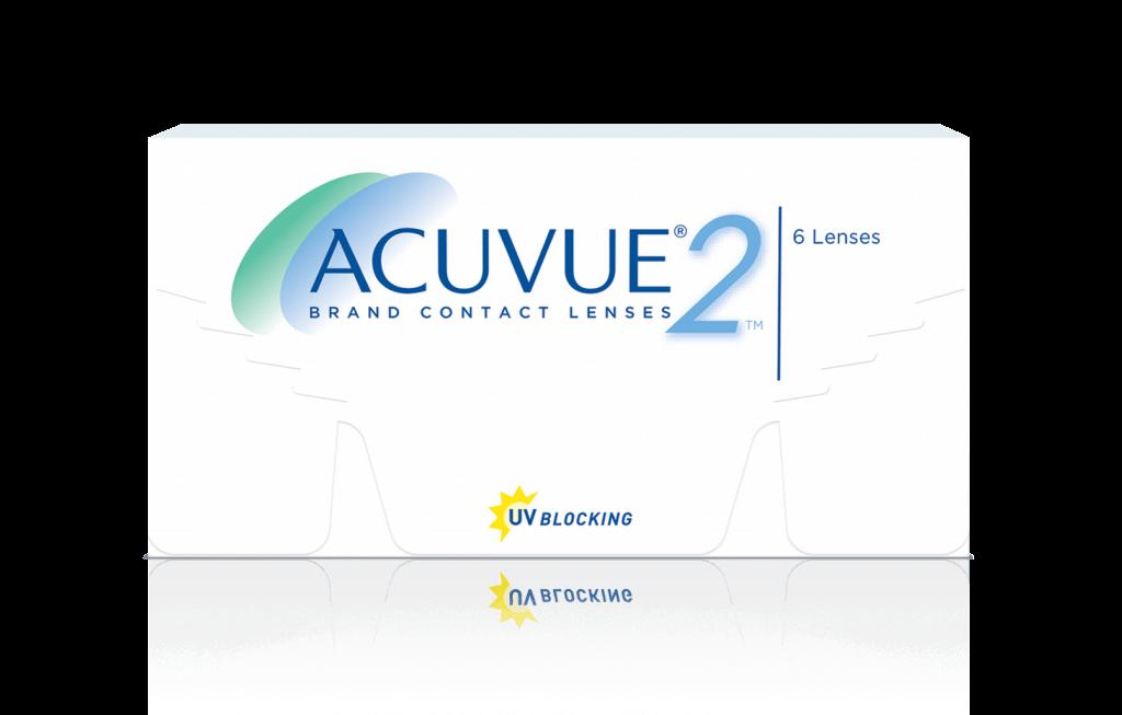 PACKSHOT of ACUVUE® 2 2-Week