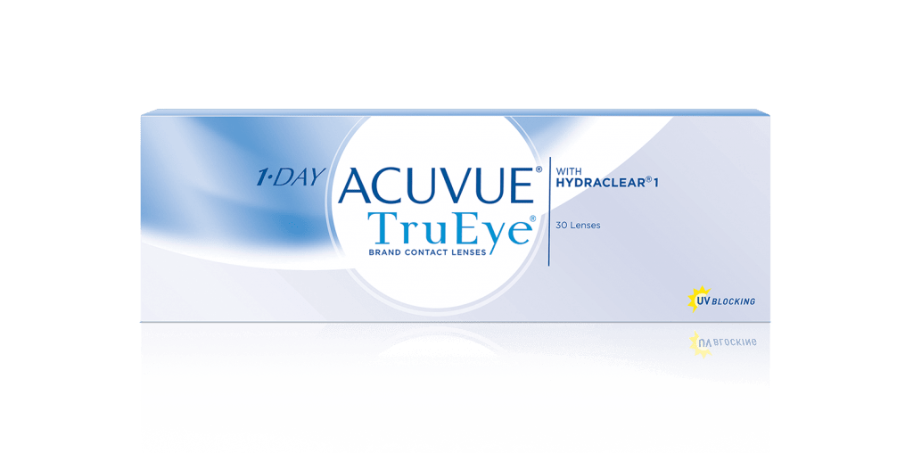 PACKSHOT of 1-DAY ACUVUE® TruEye®