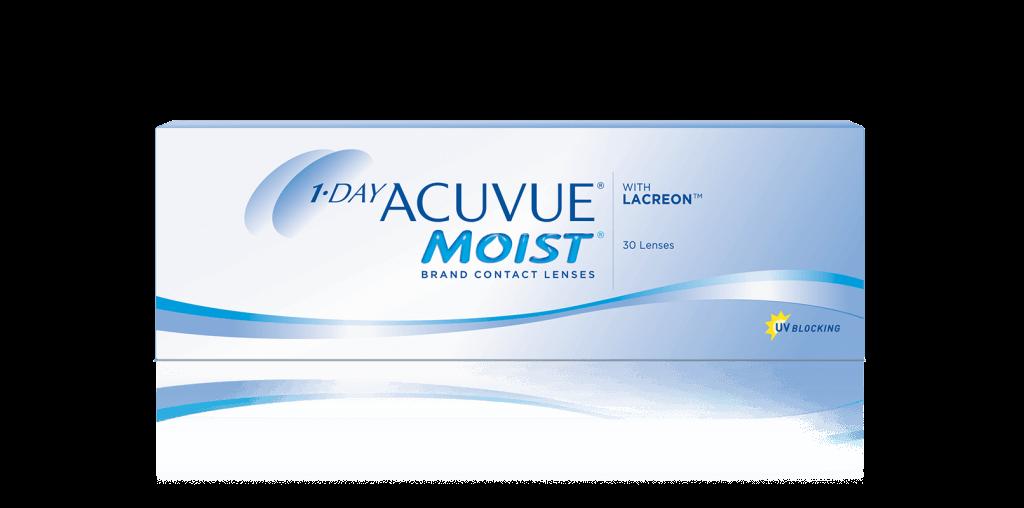 PACKSHOT of 1-DAY ACUVUE® MOIST